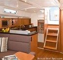 Hanse 415 interior and accommodations Picture extracted from the commercial documentation © Hanse