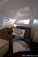 Catana 42 interior and accommodations Picture extracted from the commercial documentation © Catana