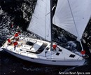 Bénéteau Océanis 430 sailing Picture extracted from the commercial documentation © Bénéteau