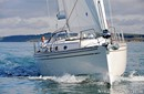 Moody 41 Aft en navigation Image issue de la documentation commerciale © Moody