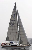Nordship Yachts Nordship 40 DS sailing Picture extracted from the commercial documentation © Nordship Yachts