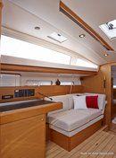 Jeanneau Sun Odyssey 44 DS intérieur et aménagements Image issue de la documentation commerciale © Jeanneau