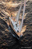 Jeanneau Sun Odyssey 44 DS en navigation Image issue de la documentation commerciale © Jeanneau