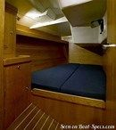J/Boats J/133 interior and accommodations Picture extracted from the commercial documentation © J/Boats