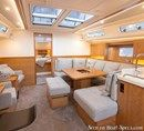 Hanse 455 interior and accommodations Picture extracted from the commercial documentation © Hanse