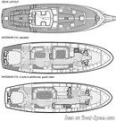 Nauticat Yachts Nauticat 441 layout Picture extracted from the commercial documentation © Nauticat Yachts