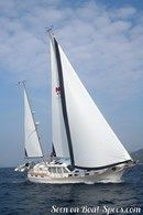 Nauticat Yachts Nauticat 441 sailing Picture extracted from the commercial documentation © Nauticat Yachts