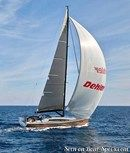 Dehler 46 sailing Picture extracted from the commercial documentation © Dehler
