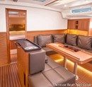Hanse 505 interior and accommodations Picture extracted from the commercial documentation © Hanse