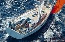 Hanse 505 en navigation Image issue de la documentation commerciale © Hanse