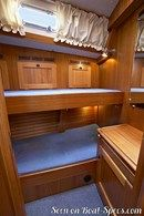 Hallberg-Rassy 48 MkI interior and accommodations Picture extracted from the commercial documentation © Hallberg-Rassy