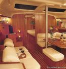 Marlow Hunter Hunter 456 interior and accommodations Picture extracted from the commercial documentation © Marlow Hunter