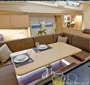 Hanse 575 interior and accommodations Picture extracted from the commercial documentation © Hanse