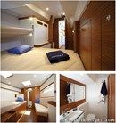 X-Yachts Xp 55 interior and accommodations Picture extracted from the commercial documentation © X-Yachts