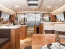 Moody 54 DS interior and accommodations Picture extracted from the commercial documentation © Moody