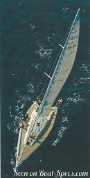 X-Yachts X-50 sailing Picture extracted from the commercial documentation © X-Yachts