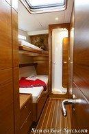 X-Yachts IMX 70 intérieur et aménagements Image issue de la documentation commerciale © X-Yachts