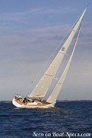 X-Yachts IMX 70 en navigation Image issue de la documentation commerciale © X-Yachts