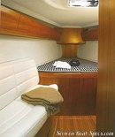 X-Yachts X-43 interior and accommodations Picture extracted from the commercial documentation © X-Yachts