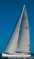 X-Yachts X-55 sailing Picture extracted from the commercial documentation © X-Yachts