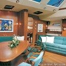 X-Yachts X-73 interior and accommodations Picture extracted from the commercial documentation © X-Yachts