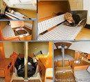 X-Yachts X-79 intérieur et aménagements Image issue de la documentation commerciale © X-Yachts