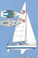 X-Yachts X-79 layout Picture extracted from the commercial documentation © X-Yachts
