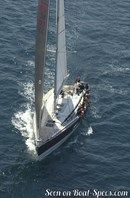 X-Yachts X-562 en navigation Image issue de la documentation commerciale © X-Yachts