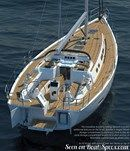 X-Yachts Xc 50 détail Image issue de la documentation commerciale © X-Yachts