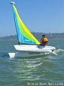 Hobie Cat Bravo  Picture extracted from the commercial documentation © Hobie Cat