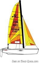 Hobie Cat Dragoon sailplan Picture extracted from the commercial documentation © Hobie Cat