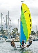 Hobie Cat Getaway en navigation Image issue de la documentation commerciale © Hobie Cat