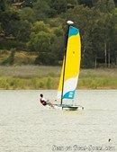 Hobie Cat T1 sailing Picture extracted from the commercial documentation © Hobie Cat