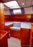Hallberg-Rassy 42F MkI interior and accommodations Picture extracted from the commercial documentation © Hallberg-Rassy
