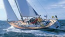 Hallberg-Rassy 46 sailing Picture extracted from the commercial documentation © Hallberg-Rassy