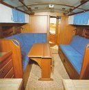 Hallberg-Rassy 94 Kutter interior and accommodations Picture extracted from the commercial documentation © Hallberg-Rassy