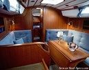 Hallberg-Rassy 312 MkII interior and accommodations Picture extracted from the commercial documentation © Hallberg-Rassy