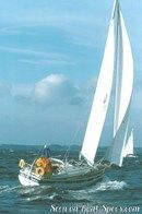 Hallberg-Rassy 312 MkII sailing Picture extracted from the commercial documentation © Hallberg-Rassy