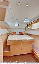 Lagoon 450 S interior and accommodations Picture extracted from the commercial documentation © Lagoon