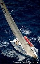 X-Yachts X-35 sailing Picture extracted from the commercial documentation © X-Yachts