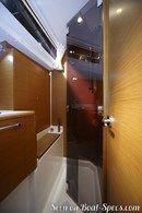 Jeanneau Sun Odyssey 449 intérieur et aménagements Image issue de la documentation commerciale © Jeanneau