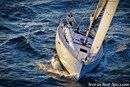 Jeanneau Sun Odyssey 389 sailing Picture extracted from the commercial documentation © Jeanneau