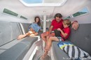 Corsair Marine Corsair 760 interior and accommodations Picture extracted from the commercial documentation © Corsair Marine