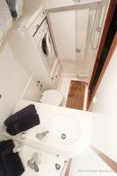 Hallberg-Rassy 40 MkII interior and accommodations Picture extracted from the commercial documentation © Hallberg-Rassy