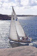 Hallberg-Rassy 40 MkII sailing Picture extracted from the commercial documentation © Hallberg-Rassy