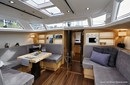X-Yachts X6<sup>5</sup> interior and accommodations Picture extracted from the commercial documentation © X-Yachts