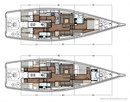 X-Yachts X6<sup>5</sup> layout Picture extracted from the commercial documentation © X-Yachts