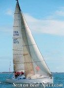 Bénéteau 34.7 sailing Picture extracted from the commercial documentation © Bénéteau