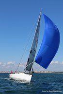 J/Boats J/11S en navigation Image issue de la documentation commerciale © J/Boats