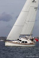 Nordship Yachts Nordship 430 DS sailing Picture extracted from the commercial documentation © Nordship Yachts